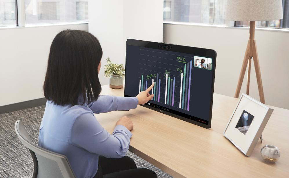 DTEN ME - Videoconferencia con Zoom